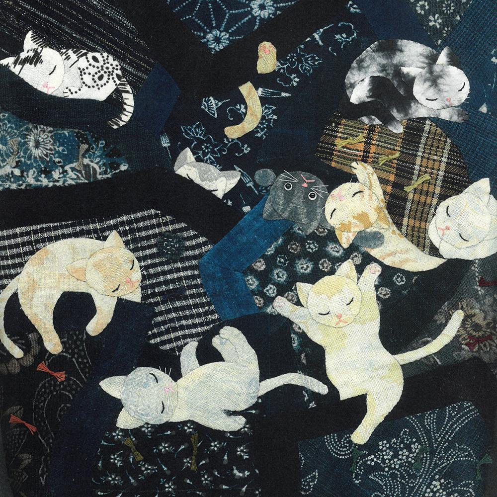 猫の雑魚寝 2007年